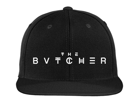 The Bvtcher Flat Bill Snapback
