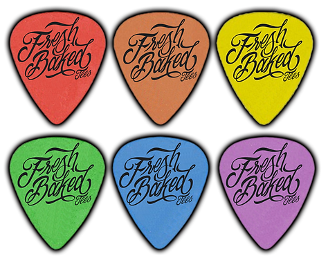Colored Custom Delrin Guitar Picks
