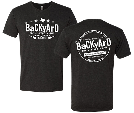 Backyard Vintage Black Tee