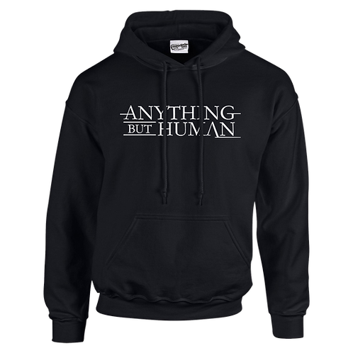Anything But Human Logo Hoodie