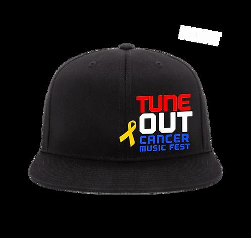 Tune Out Cancer Flex Fit Cap