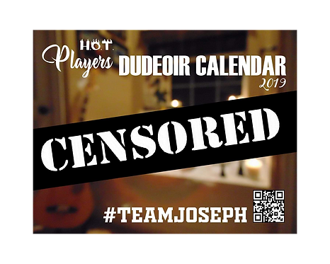 Team Joseph Dudeior Calendar