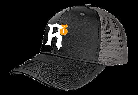 RRR Trucker Cap Black Front
