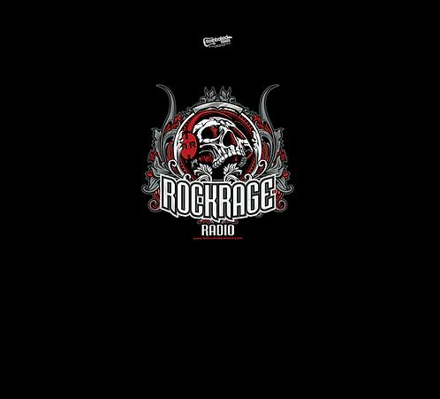 Rock Rage Radio Skull Tee