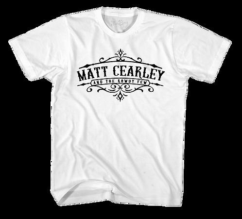 Matt Cearley White Tee