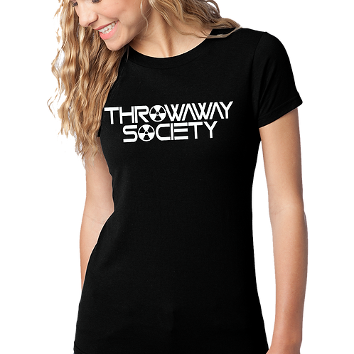 Throwaway Society Girls Tee