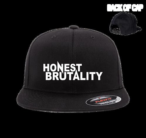 Honest Brutality Snap Back Flatbill Embroidered Cap