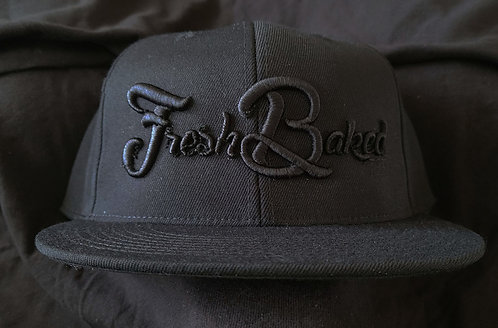 FBT Flex Fit Flatbill Embroidered Cap with 3D Embroidery
