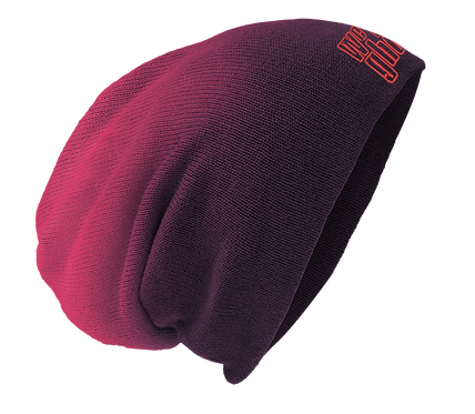 We the Ghost Eggplant Slouch Beanie