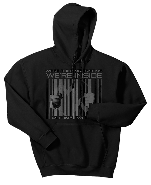 Mutiny Within Bar Code Hoodie