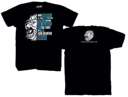 Chris Low Lion Hearted Black Tee