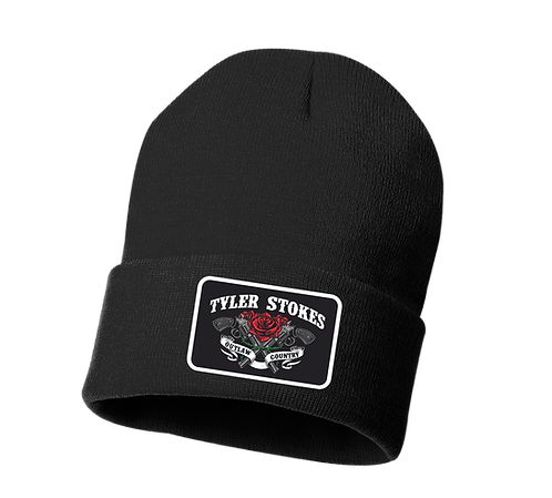 Tyler Stokes Patch Cuffed Beanie