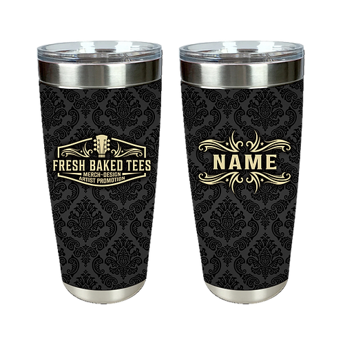 Fresh Baked Patch Personalized Tumbler