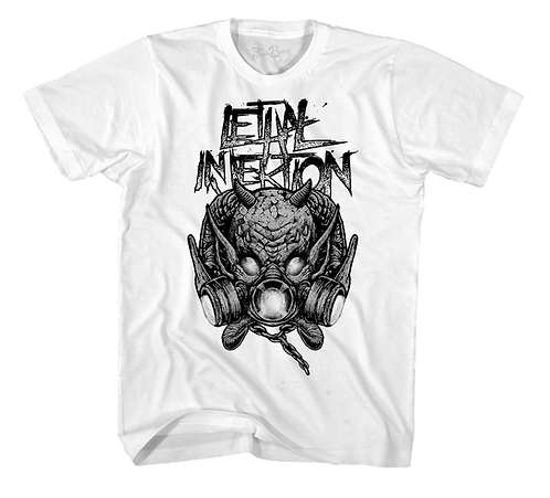 Lethal Injektion Evil Space Tee White