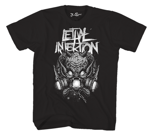 Lethal Injektion Evil Space Tee Black