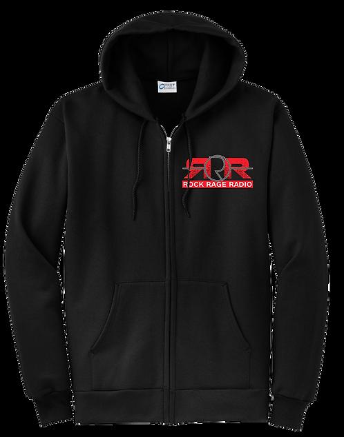 Rock Rage Radio Zip Hoodie