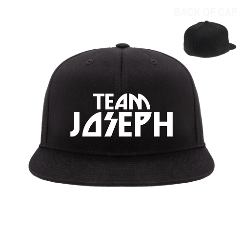 Team Joseph Flex Fit Flatbill Embroidered Cap