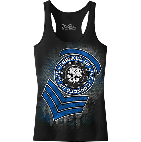CUL Blue Girls Tanks