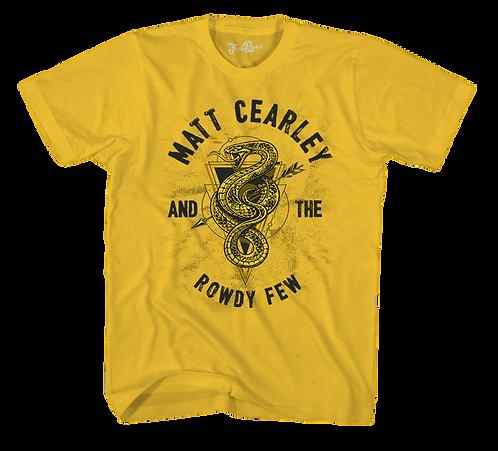 Matt Cearley Mustard Snake Tee