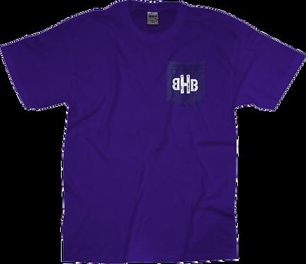 BHB Purple Pocket Tee