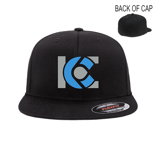 ICE Flex Fit Flatbill Embroidered Cap