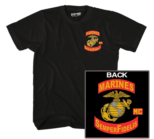 Marines MC SS Tee