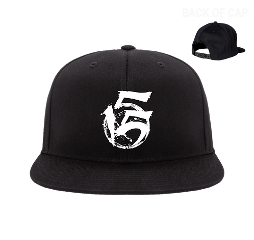 5Fifteen Snap Back Flatbill Embroidered Cap