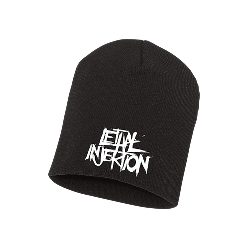 Lethal Injektion Embroidered Beanie