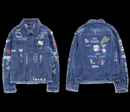 King Baby Blue Denim Jacket
