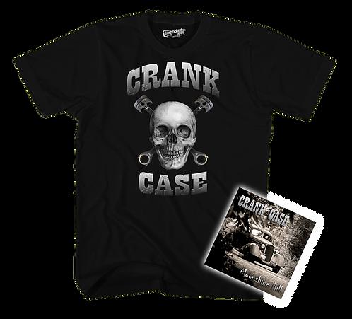 Crank Case Tee CD combo Pre Sale