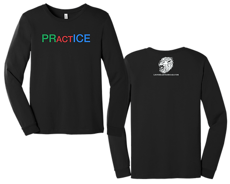 Chris Low Practice Black LS Tee