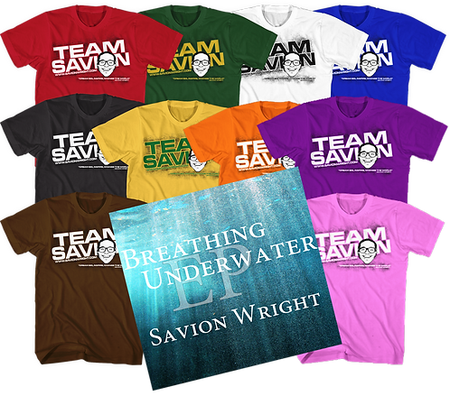 Team Savion Tee EP Combo Youth