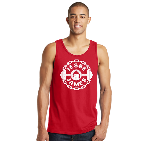 Jesse James Guys Red Tank