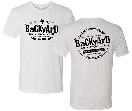 Backyard Vintage White Tee