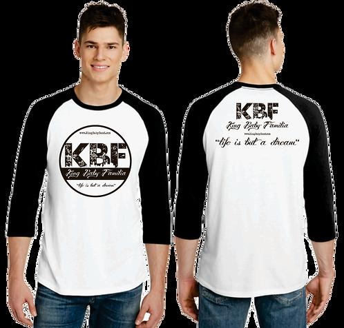 King Baby Circle Baseball Shirt