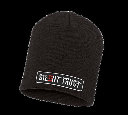 Silent Trust Patch Beanie