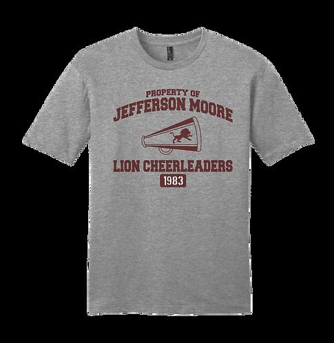 Jeff Moore Property of Lion Cheerleaders Tee
