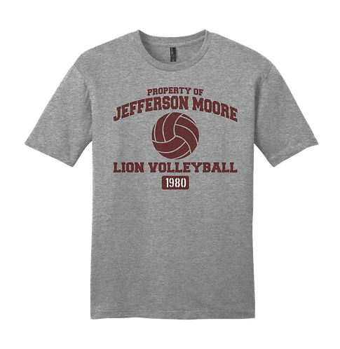 Jeff Moore Property of Lady Lion Volleyball Tee