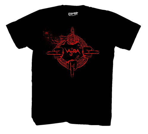 Vajra Ourobouros T Red Print