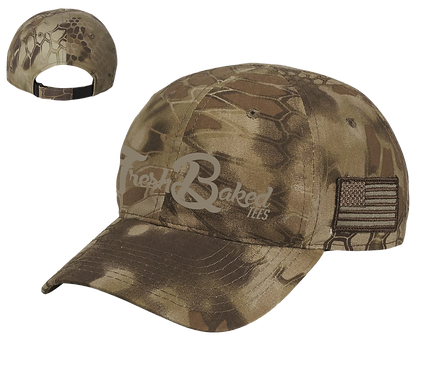 FBT Keyptek Camo Cam with Tone on Tone Embroidery