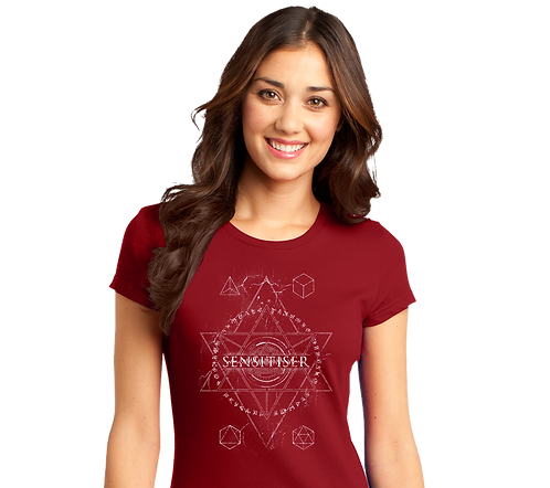 Sensitiser Star Red Girls Tee