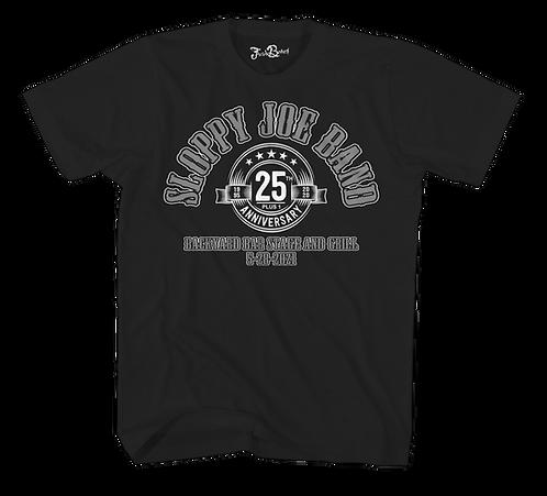 Commemorative Sloppy Joe 25th Tee Black