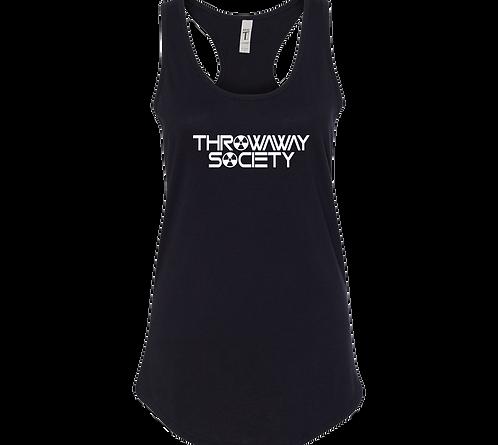 Throwaway Society Logo Racerback