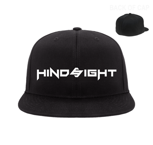 Hindsight Flex Fit Flatbill Embroidered Cap