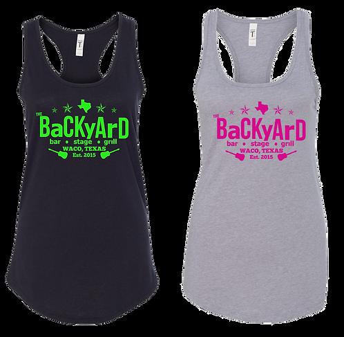 Backyard Racerback Tank