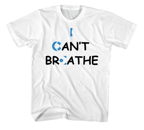 ICE I CAN'T BREATHE White Tee