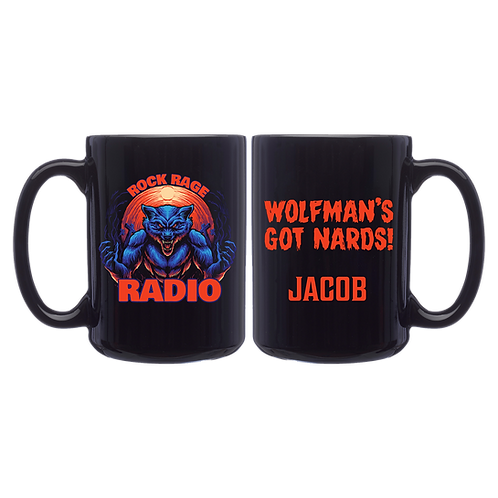 RRR Wolfman Personalized Coffee Mug