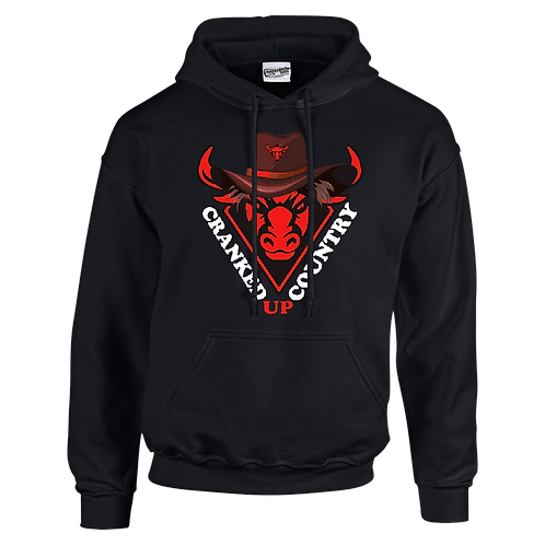 Cranked Up Country Red Bull Hoodie
