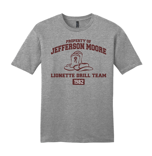 Jeff Moore Property of Lionettes Drill Team Tee