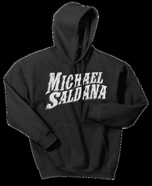 Michael Saldana Wavy Text Hoodie